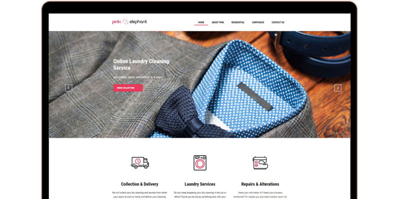 Pink Elephant Laundry Services